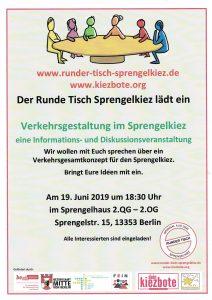 Runder Tisch Sprengelhaus Verkehrsgestaltung - Flyer