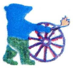 Logo Roma Kultur Rad Berlin e.V.