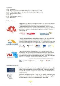 Screenshot Einladung Migrationspaket Ablaufplan