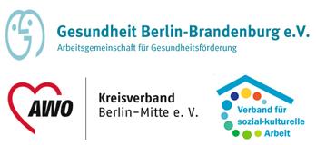 Logos dreier Mitglieds-Organisationen